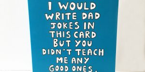 Cool fathers day card by Ladykerry