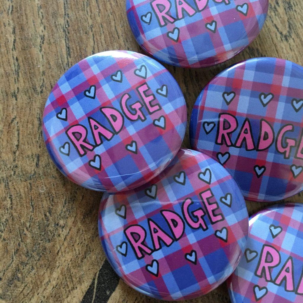 Ladykerry radge badge