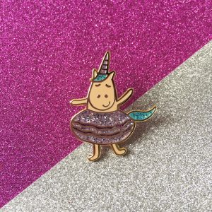 Unicorn pin, cool pin