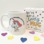 Unicorn mug by Ladykerry Illustrated Gifts